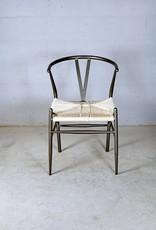 Jabulo Design Stuhl Plettenberg Gartenstuhl Metall Rattan