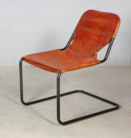 G nstige m bel im shabby chic vintage industrial und for Design lederstuhl
