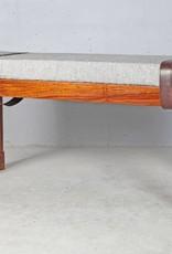 Jabulo Design Lounge Sitzbank Moliéts Mango Holz Metall