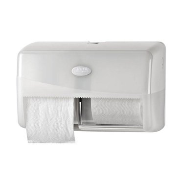 MTS Euro products EP toiletrolhouder Pearl White Duo