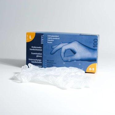 Euro Gloves onderzoekshandschoenen Vinyl