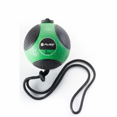Pure2Improve Pure2Improve Medicine Ball with rope