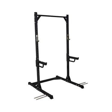 Lifemaxx Crossmaxx® Squat rack (black)