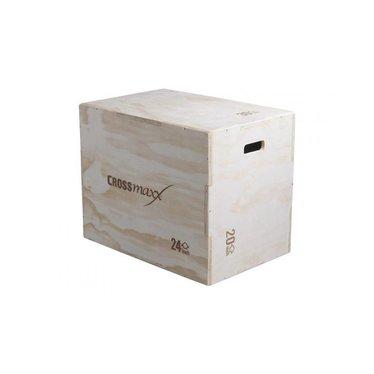 Lifemaxx Crossmaxx® wooden plyo box (3-level)