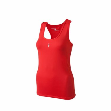 Thundersports Compression Tee rood dames