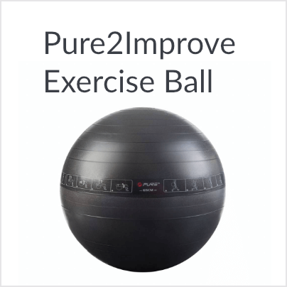 Pure2Improve Exercise Ball 65cm of 75cm