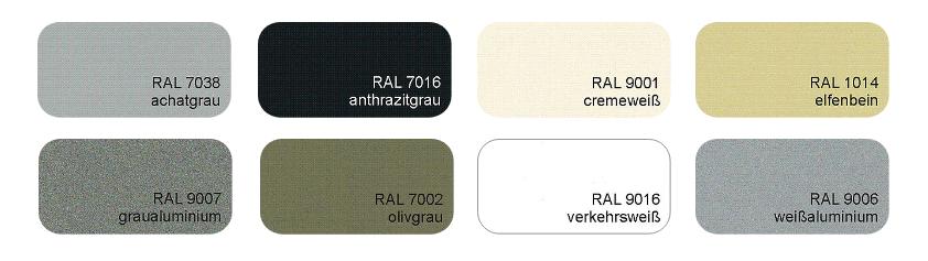 Spinaltools kleurenkaart