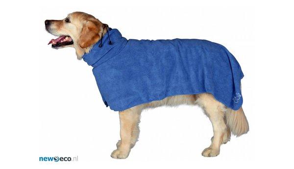 Hondenbadjas van microvezel