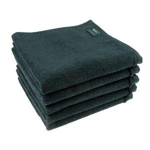 Microvezel Handdoek Zwart