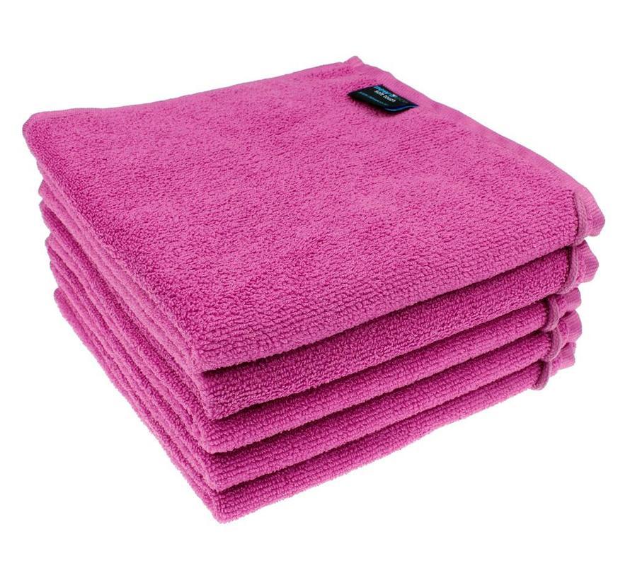 Microvezel Handdoek Roze