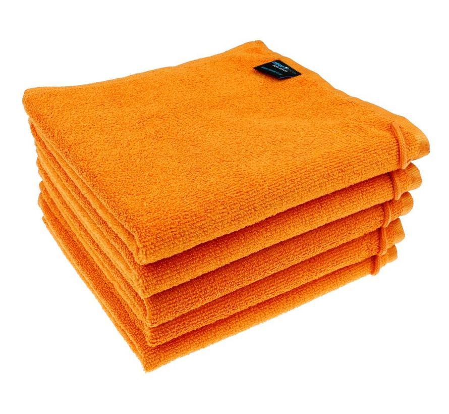 Microvezel Handdoek Oranje