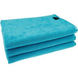 Microvezel Badhanddoek turquoise