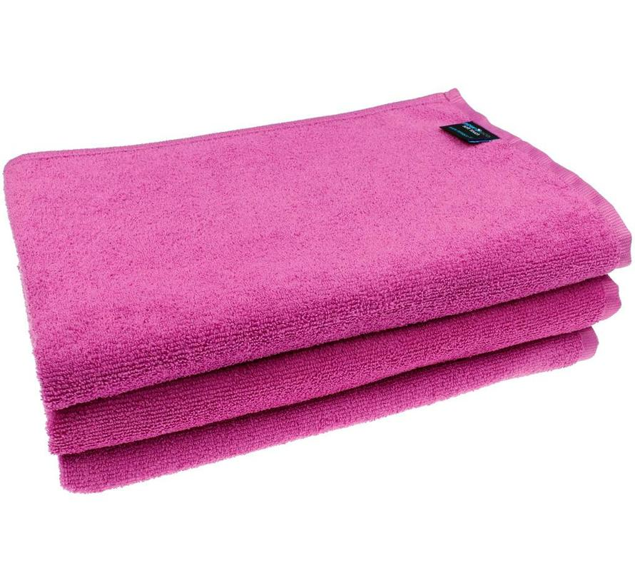 Microvezel Badhanddoek roze
