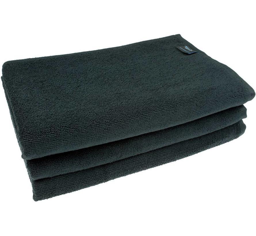 Microvezel Badhanddoek zwart
