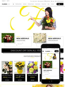 Theme Paris FlowerShop