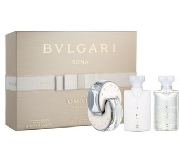 Bvlgari Giftset Omnia Crystalline + SHOWER GEL + BODY LOTION Toilette