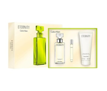 Calvin Set Calvin Klein Eternity Woman Edp 100Ml + Body Lotion 100Ml + Edp 10Ml