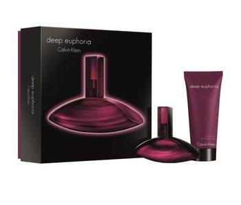 Calvin Klein Set Calvin Klein Deep Euphoria Woman Edp 50Ml + Body Lotion 100Ml