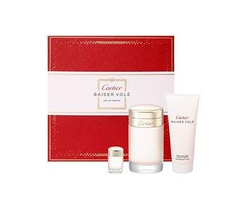 Cartier Giftset Baiser Vole + BODY CREAM + 6ml Parfum