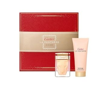 Cartier Giftset La Panthere + BODY CREAM Parfum