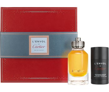 Cartier Giftset L'Envol + Deodorant Stick Parfum