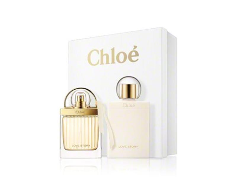 Chloe Giftset Love Story + BODY LOTION Parfum