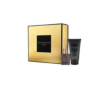 Cristiano Ronaldo Giftset Legacy Men EDT 30ml + SHOWER GEL 150ml Toilette
