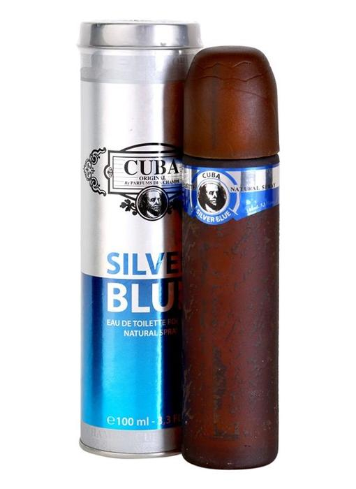 Cuba Original Silver Blue Toilette