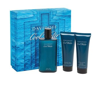 Davidoff Giftset Cool Water Men EDT 125ml + SHOWER GEL 75ml + Aftershave Balm 75ml Toilette