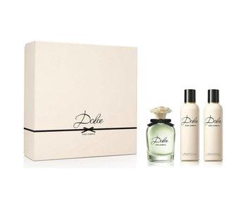 Dolce en Gabbana Giftset Dolce EDP 75ml + BODY LOTION 100ml + SHOWER GEL 100ml Parfum