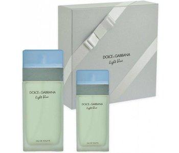 Dolce & Gabbana Giftset Light Blue Woman EDT 100ml + EDT 25ml Toilette
