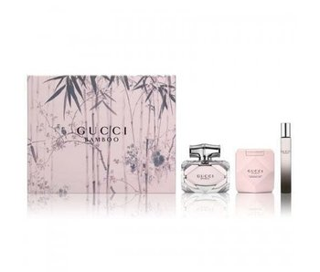 Gucci Giftset Bamboo EDP 75ml + BODY LOTION 100ml + ROLLERBALL EDP 7,4ml Parfum