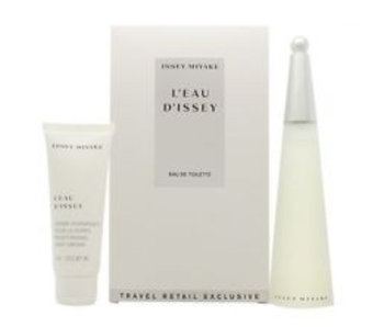 Issey Miyake Giftset L'Eau d'Issey Pour Femme EDT 100ml + BODY CREAM 75ml Toilette