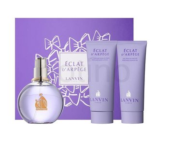 Lanvin Giftset Eclat d'Arpege EDP 100ml + BODY LOTION 100ml + SHOWER GEL 100ml Parfum