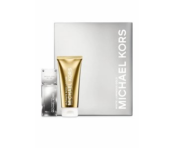 Michael Kors Giftset White Luminous Gold EDP 50ml + BODY LOTION 100ml Parfum