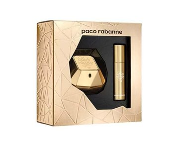 Paco Rabanne Giftset Lady Million EDP 50ml + EDP Travel 10ml Parfum