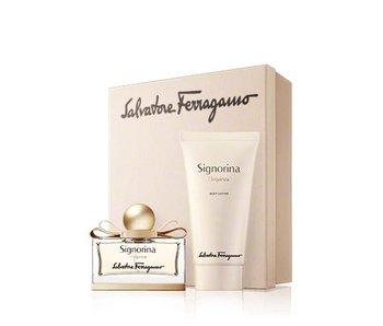Salvatore Ferragamo Giftset Signorina EDP 100ml + BODY LOTION 100ml Parfum