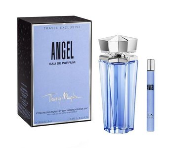 Thierry Mugler Giftset Angel Travel Exclusive EDP refillable 100ml + EDP 7,5ml Parfum