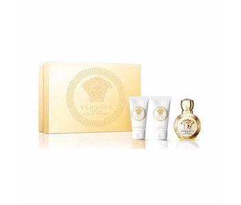 Versace Giftset Eros EDP 50ml + BODY LOTION 50ml + SHOWER GEL 50ml Parfum