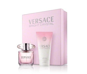 Versace Bright Crystal Gift Set 90 ml and 100 ml Bright Crystal