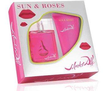 Salvador Dali Sun & Roses Gift Set 50 ml and Sunglasses