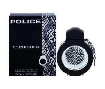 Police Forbidden for Man