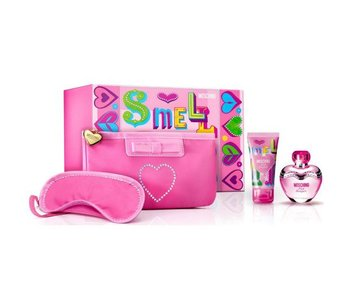 Moschino Pink Bouquet Gift Set 50 ml, Pink Bouquet 50 ml and Bag