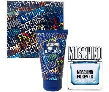 Moschino Forever for Men Sailing Gift Set 30 ml and balm Forever for Men Sailing 50 ml