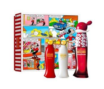 Moschino Cheap & Chic Chic Petals Gift Set 30 ml, 25 ml and 25 ml