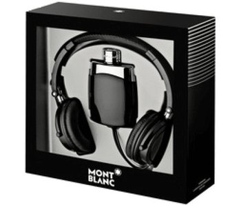 Mont Blanc Legend Gift Set 100 ml and headphones