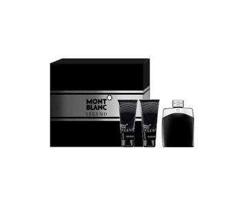 Mont Blanc Legend Gift Set 100 ml, 100 ml Legend and Legend aftershave balm 100 ml