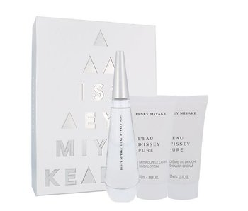 Issey Miyake L´Eau D´Issey Pure Gift Set 50 ml; L´Eau D´Issey 50 ml and shower cream L´Eau D´Issey 50 ml