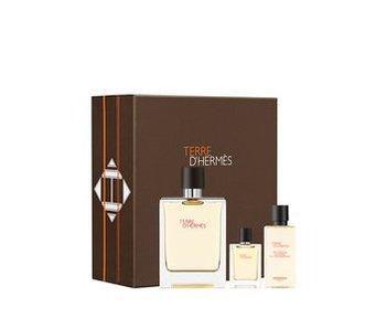Hermes Terre D`Hermes Gift Set 100ml; Terre D`Hermes 5 ml and 40 ml Terre D`Hermes