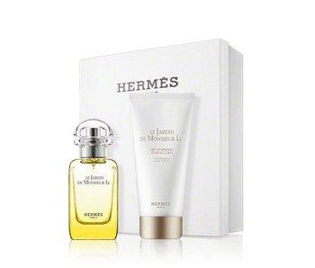 Hermes Le Jardin de Monsieur Li Gift Set 50 ml and Le Jardin de Monsieur Li 75 ml